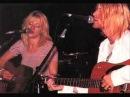 Kurt CobainCourtney Love live pennyroyal tea where did u sleep last night
