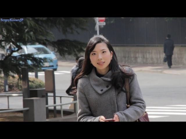 Японка Юки показывает университет Васеда. Топовый японский вуз.