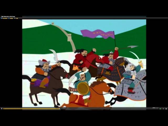 Stupid Mongolians - SouthPark