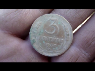 Поиск золота у старинного пруда. марки. монеты. липецк.