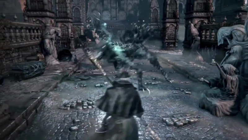 Bloodborne - The Hunt Begins (рекламный ролик)