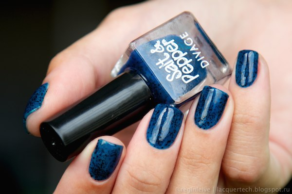 Divage salt and pepper 15 nail polish swatch by Reginleive