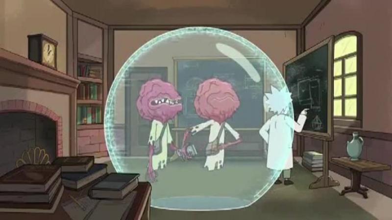 Рик и Морти сезон 2 серия 1 Rick.and.Morty.S 2 E 1. Эйнштейн