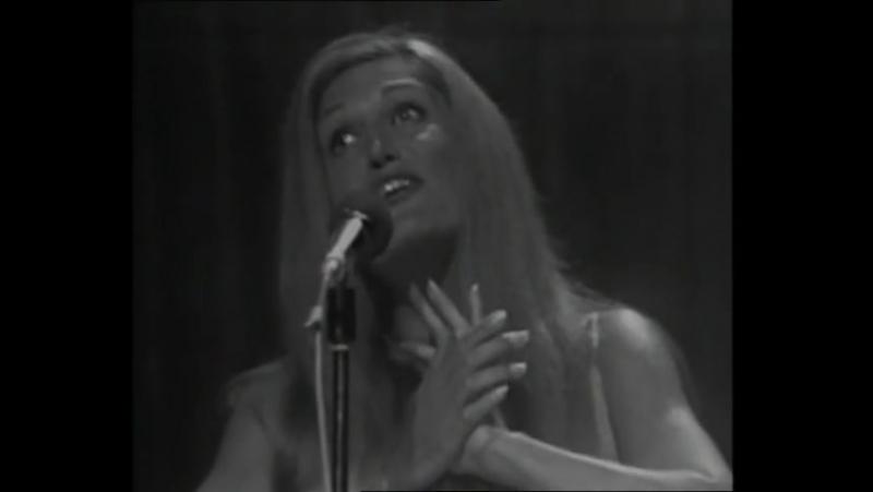 Dalida - Jesus bambino - 23/08/1971 - (Une cigogne sur la 2 (2e chaine)