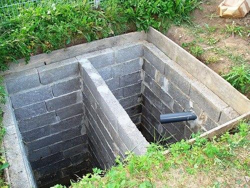 Выгребные ямы в частном доме