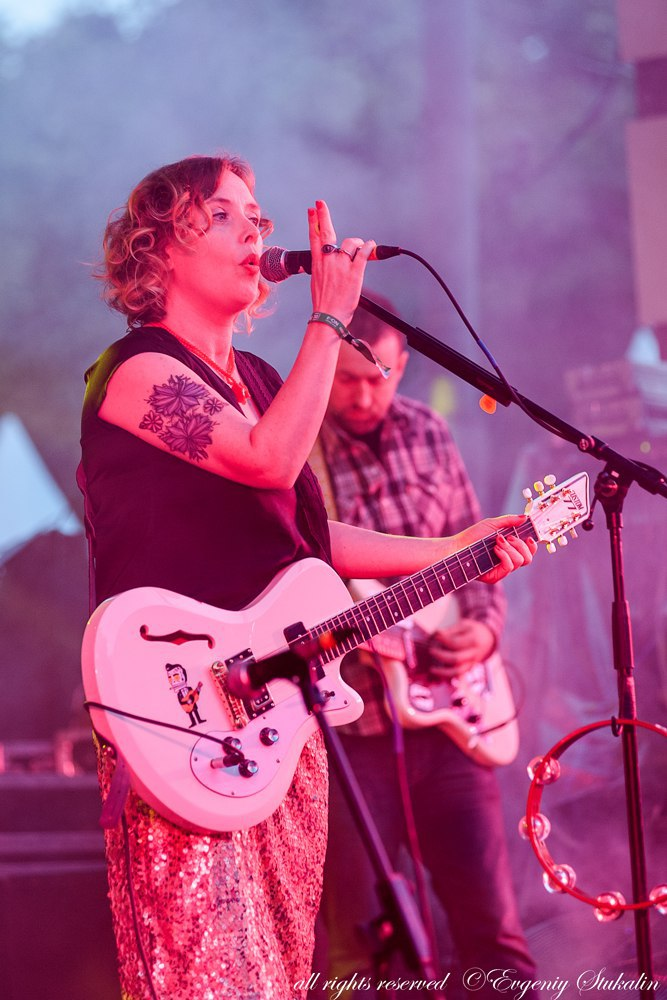 Slowdive @ Red Park Fest, Moscow, Russia, 2015.08.01