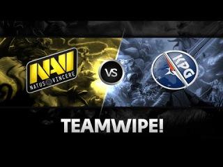 Teamwipe by Na`Vi vs Kompas Gaming @ The Summit 2