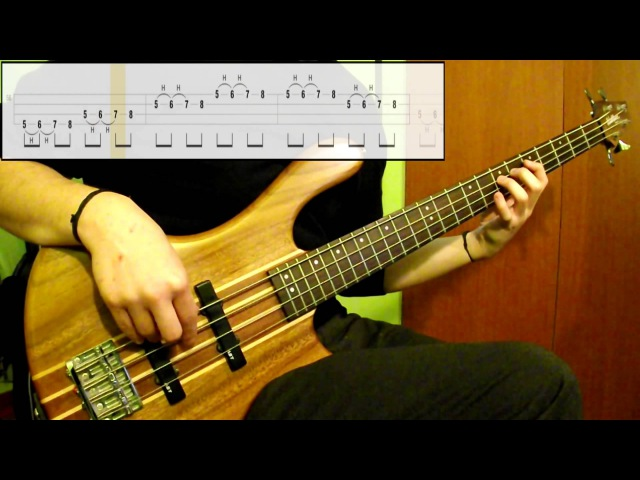 Lesson 11: Hammer-On Pull-Off Lvl.1 (Bass Exercise) (Play Along Tabs In Video)