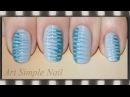 Легкий маникюр для девочек маникюр иголкой Blue Needle Nail Art ArtSimpleNail
