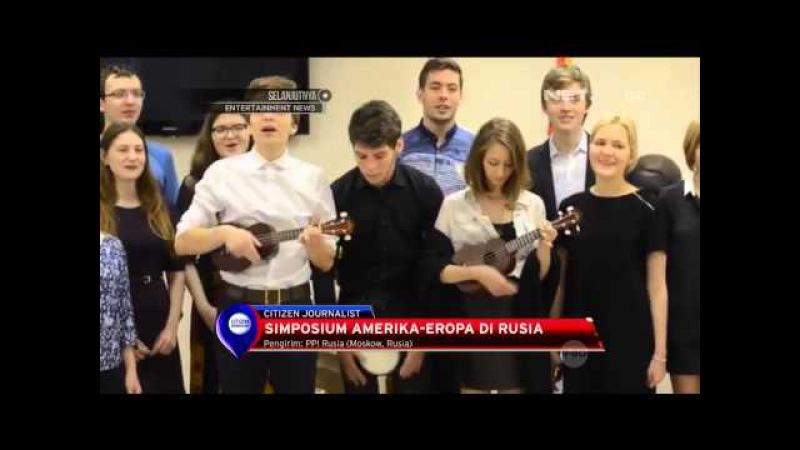 Simposium Amerika - Eropa di Rusia - NET10