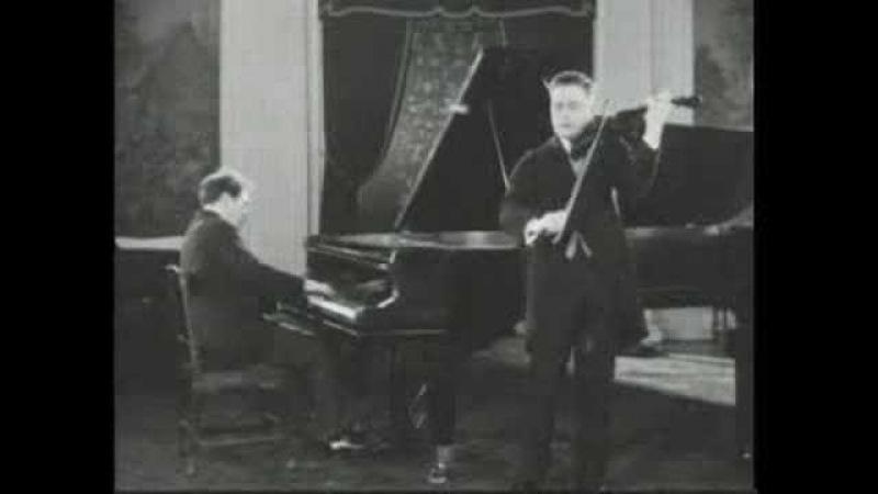 Beethoven Kreutzer Sonata Zimbalist-Bauer Rec.1926