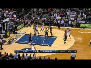 HD Utah Jazz vs Minnesota Timberwolves | Full Highlights | March 30, 2015 | NBA Season 2014/15