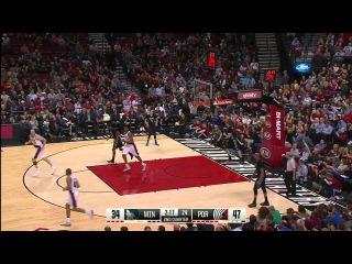 HD Minnesota Timberwolves vs Portland Trail Blazers   Full Highlights   April 8, 2015   NBA