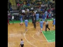 Glen Davis kicks a seat cushion into the stands #NBA