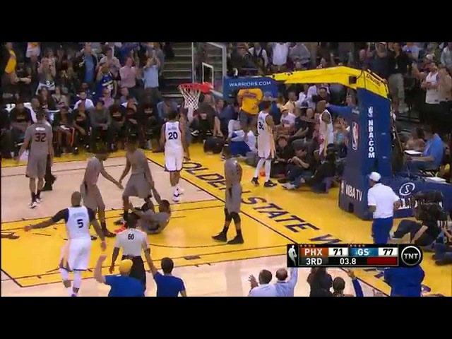 Leandro Barbosa's Nasty Crossover and Circus Layup