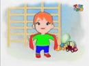 Прыг скок команда - Зарядка для малышей Разминка с шарфиком