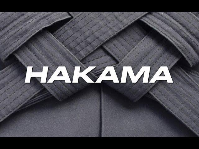 Aikido Tutorial How to fold a Hakama Como doblar una Hakama