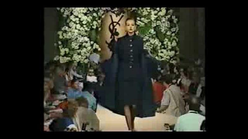 Yves Saint Laurent haute couture fall winter 1995 - part 1