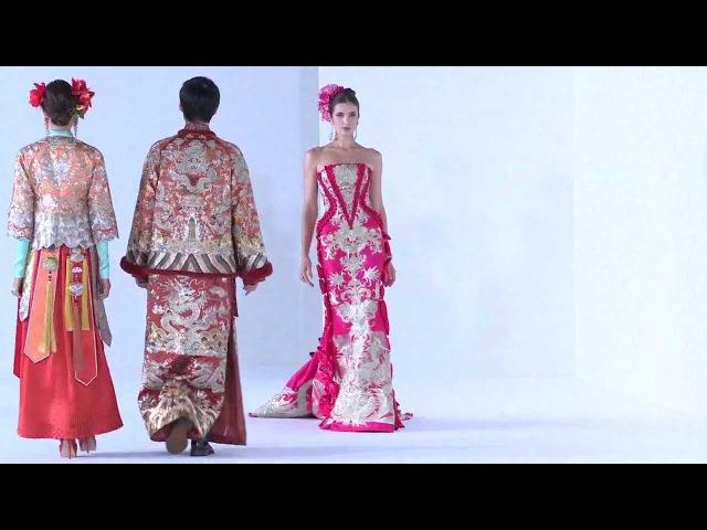 Guo Pei Ci Couture 2013 Fashion Show - DigitalFashionWeek Singapore 2012