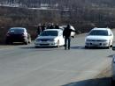 Honda Accord EuroR vs Mitsubishi Legnum VR 4 TypeS заезд1 ч1
