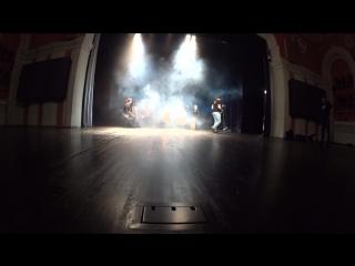 Съёмки клипа Тучи в Питере. Зазеркалье ActionCamera 4