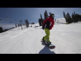 How to Butter on a Snowboard - Tail butter 180 - (Regular) Full Free Snowboard Tricks
