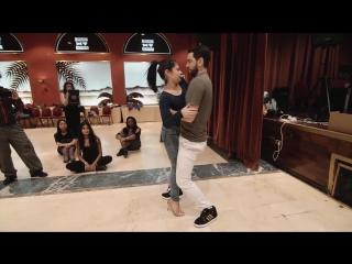 Andressa Freddy - Last Spiral Dancers Festival 2014 - Zouk Demo Closed Embrace
