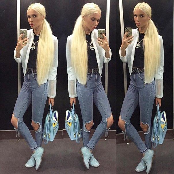 Русская блондинка на кастинге у вудмана 17 фотография