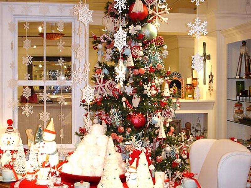Новогодний декор - украшение квартиры и дома к Новому году