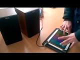 Музыкальный талант на планшете