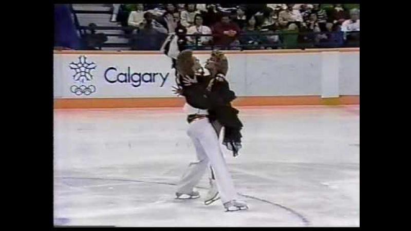 Bestemianova Bukin (URS) - 1988 Calgary, Ice Dancing, Original Set Pattern