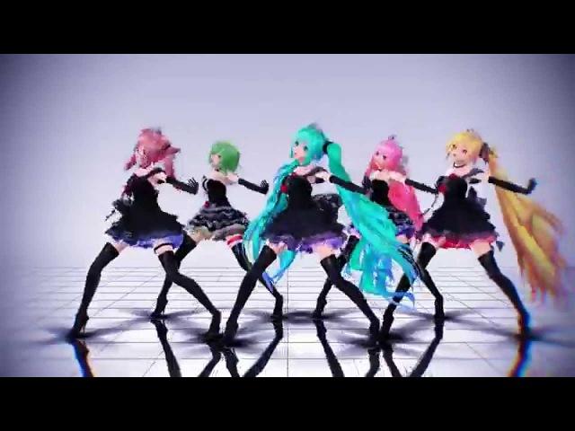 【MMD】 Love Latter 【New Update】【TDA Lace Dress Ver 2.5】 HD 720p