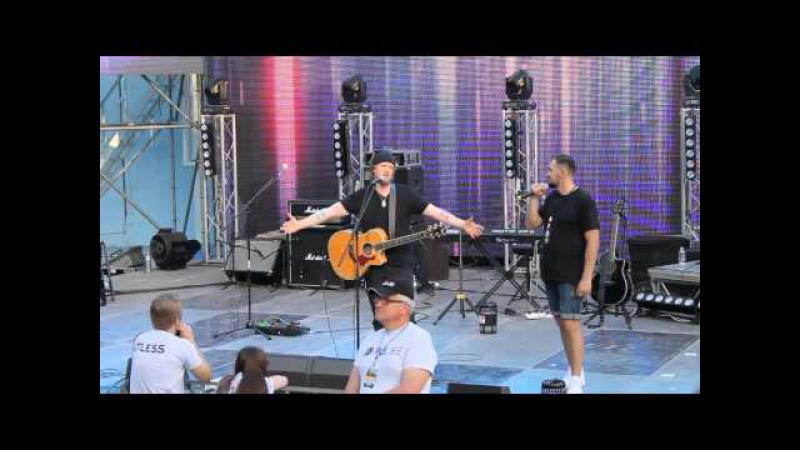 Dave Lubben. Perfomances story. Kutless concert 23.05.15 (Odessa)