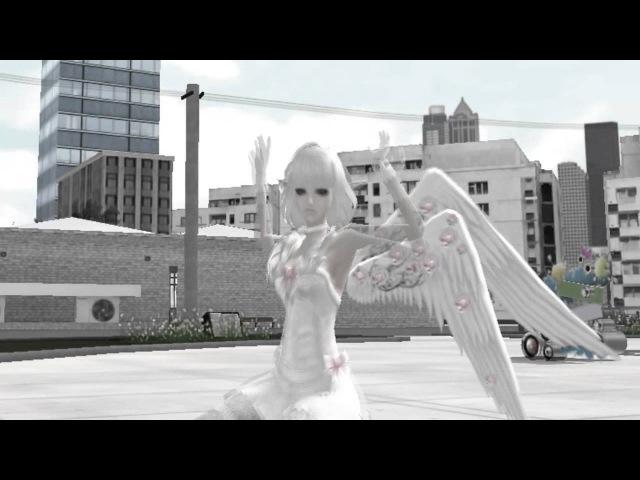 Пара па Город танцев Ангел и Демон