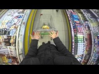 То чувство, когда я беру тележку в супермаркете.