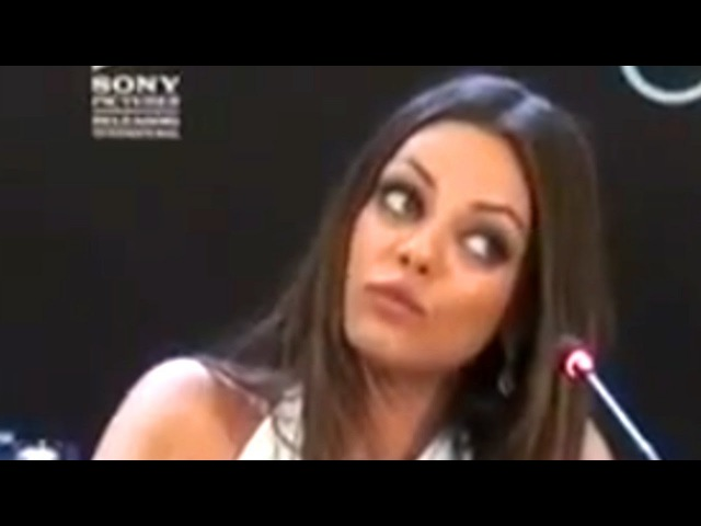 Mila Kunis Goes Nuts in Russian -- Friends with Benefits Press Interview | TMZ
