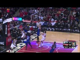[HD] Philadelphia 76ers vs Chicago Bulls | Full Highlights | April 11, 2015 | NBA Season 2014/15