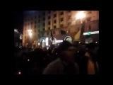 Киев. Факельное шествие майдаунов по Крещатику | 14 декабря Сегодня Новости