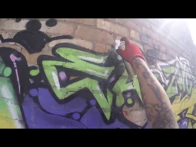 Graffiti - Ghost EA - Abandoned Shadow Factory Part 2