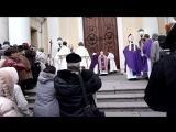 Освящение дверей Базилики св.Екатерины Александрийской