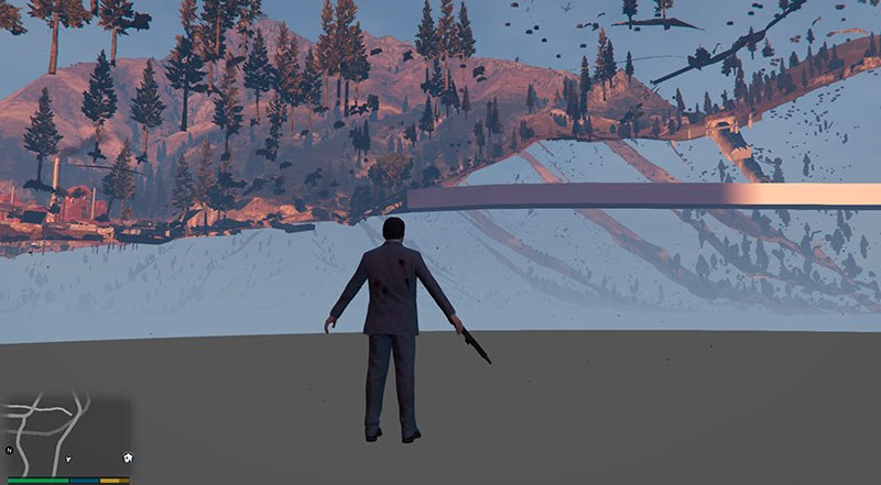 Noclip – прохождение через стены в GTA 5, скачать мод