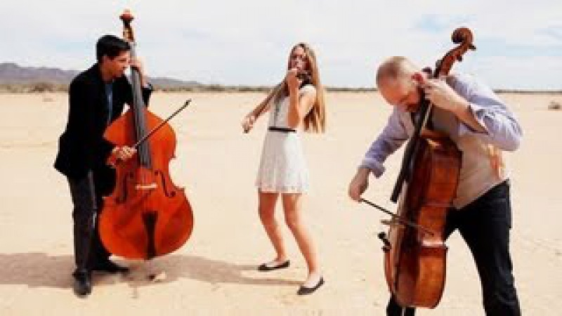 Rolling in the Deep Adele violin cello bass cover Simply Three