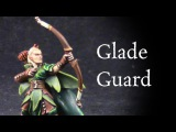 How to paint Glade Guard Wood Elves