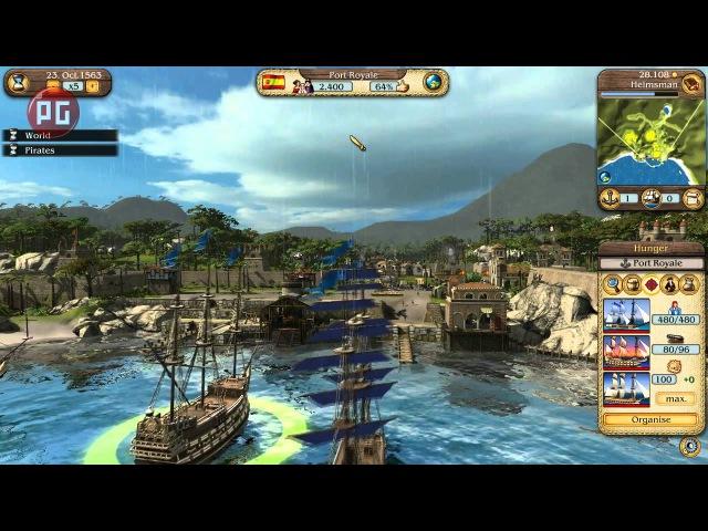 Port Royale 3: Pirates Merchants. Видеообзор