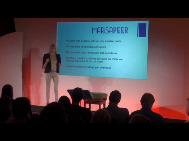 How to avoid rejection and get connection Marisa Peer at TEDxGoodenoughCollege