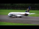 Airbus А380 модель реактивного самолета на радиоуправлении