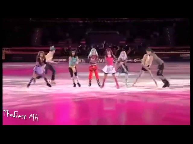 Танцы на льду- Монстр Хай / Школа монстров / Monstr high on ice