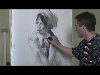 Николай Блохин. Мастер-класс - рисунок «Скоморох»
