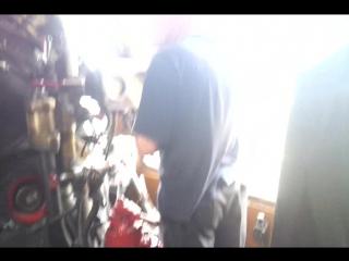 Поездка в кабине паровоза П36-0120
