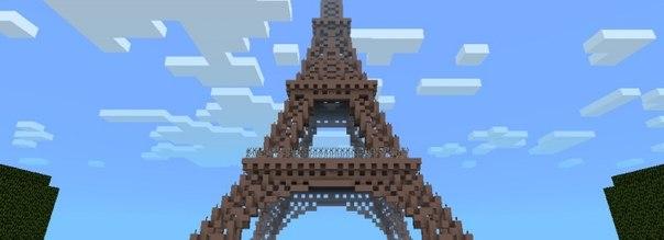 Карта Eiffel tower для MCPE 0.10.4